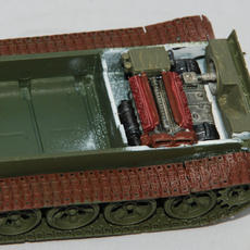 Italeri 1/72 T-55A in progress