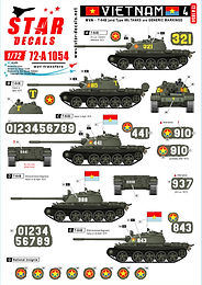 Vietnam - NVA Decal Sets in 1/72