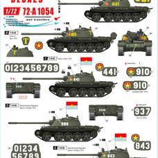 72-A 1054 NVA T-54B Tanks