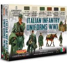 Lifecolor, Italian Uniforms WW1 set