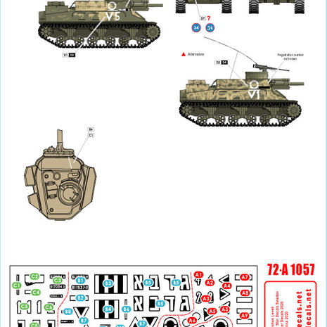 72-A 1057 Centurion & Priest