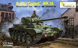 A34 Comet Mk 1A in 1/72