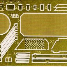 Gecko 1/35 LARC-V Modern version - etch fret