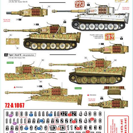 72-A 1067 s.Pz.Abt 609