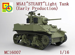 M5A1 Stuart, Early Variant, in 1/16