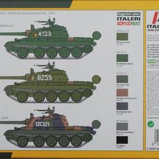 Italeri 1/72 T-55A Colour & Markings options