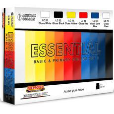 Lifecolor, Gloss Basic Colours set