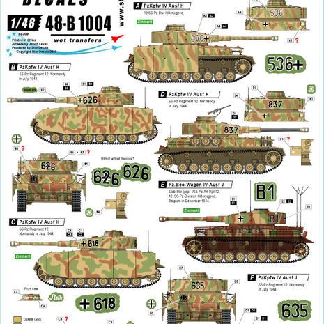 48-B 1004 HJ PxKpfw IV