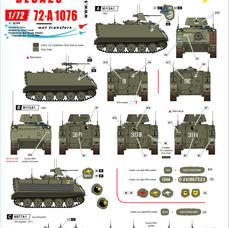 72-A 1076 Australian M113s in Vietnam