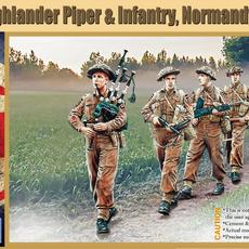 WW2 Scottish Highlanders, Normandy 1944