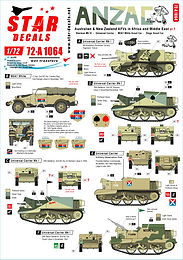 ANZAC AFVs N. Africa & Middle East in 1/72
