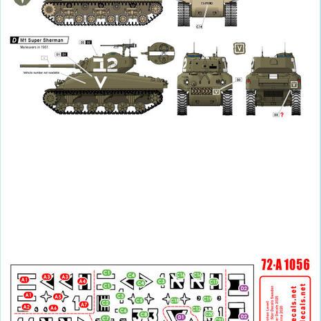 72-A 1056 M1 Super Sherman