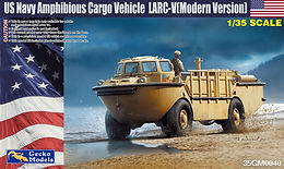 LARC-V Modern Version with Rubber Raiding Craft in 1/35