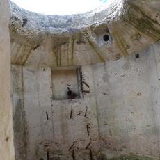 Inside Tobruk pit