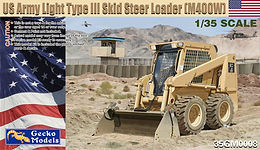 US Army Light Type III Skid Steer Loader (M400W) in 1/35