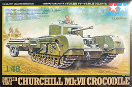 Churchill Crocodile in 1/48