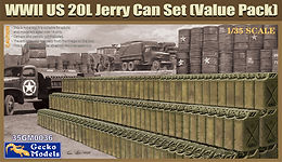 WWII US 20l Jerry Can Set