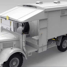 Gecko 1/35 Austin K2 Ambulance