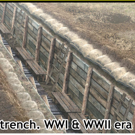 35174 Trench Section, WW1 and WW2