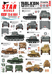 Balkans 1941-46 Decal Sets in 1/72