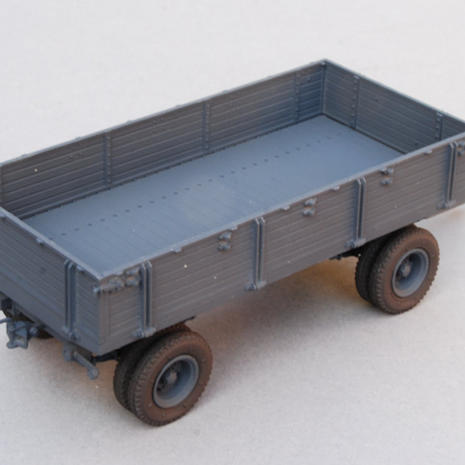 Trailer built and painted