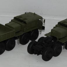 Both trucks together