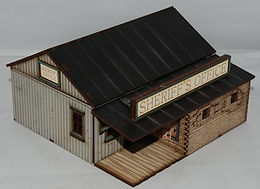 Sheriff's Office in 28mm scale