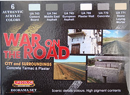 War on the Road Paint Set