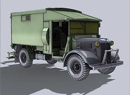 Austin K2/Y Ambulance in 1/35