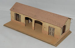 El Alamein Railway Halt in 20mm Scale