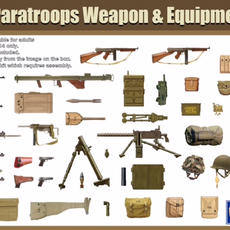 Gecko US Paratroops Weapons & Equipment set