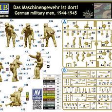35218 Das Maschinegewehr assembly guide