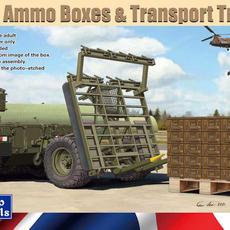 Gecko British Ammo Box Pallet & ATMP Trailer in 1/35