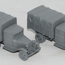 Assembled trucks