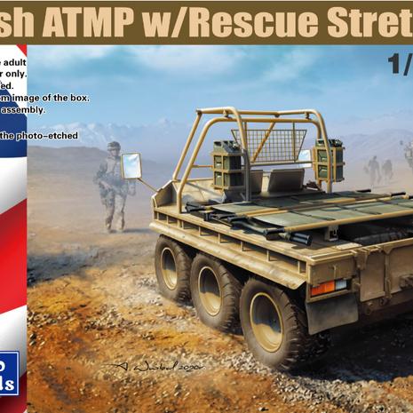 British ATMP w/Rescue Stretcher