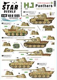 HJ Panzer Markings in 1/48