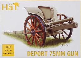 Deport 75mm Field Gun 1911 in 1/72