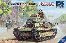 French FCM 36 and other News