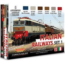 Lifecolor, Italian Railways set 1