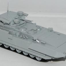 Zvezda 1/72 T-15 Armata built, unpainted