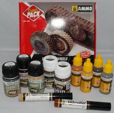 Ammo, Tracks & Wheels Solutions Set
