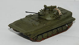 Two old BMP-2 Models in 1/72