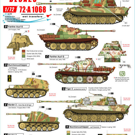 72-A 1068 Hungary '45