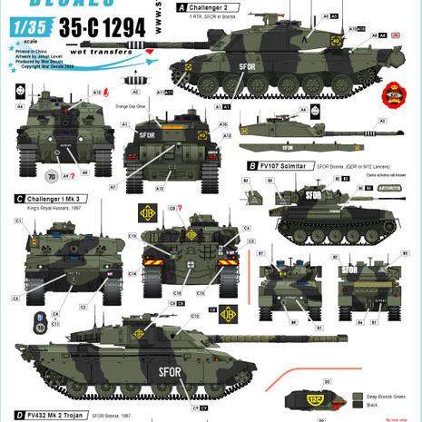 35-C 1294 British SFOR Mix