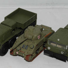 Size comparison with the Airfix Firefly in the same scale