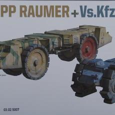 Takom 1/72 Krupp Raumer S + Vs.Kfz.617