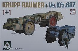 Krupp Raumer S + Vs.Kfz 617 in 1/72
