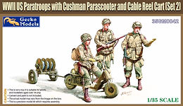 2 New WW2 US Paratrooper sets in 1/35
