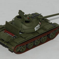 Italeri 1/72 T-55A done