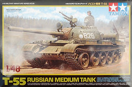 T-55 in 1/48th